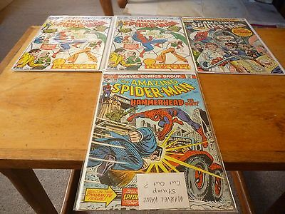 The Amazing Spider-Man comic lot x 4 issues