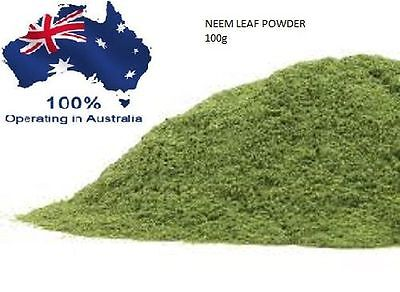 100g Neem Powder AZADIRACHTA INDICA HERBAL 100% PURE and NATURAL - AU SELLER