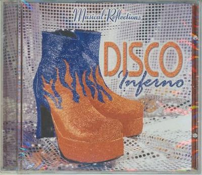 Disco Inferno Music Cd,boogie Back To 1970's, New  Sealed