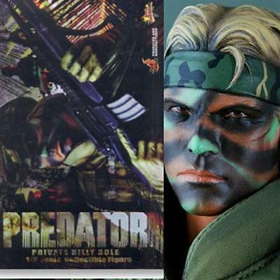 Predator Private Billy Sole 1/6 Hottoys Hot Toys Action Figure Pa Aq2238