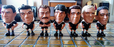 All Blacks Figurines Caltex Rugby Union 1995 World Cup 7 of 15 Black New Zealand