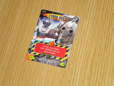 Doctor Who, Battles in Time, CYBER BUSTER (342) UR 067/100 (Very Scarce Card)