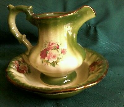 'bowl & Jug Set' - Staffordshire England - Collectors