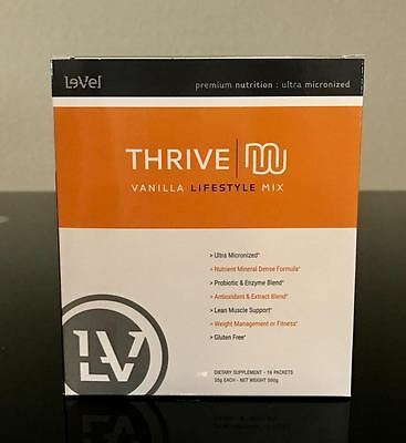 Le-Vel Thrive Premium Lifestyle Mix 16 packs Le Vel Level protein meal shake