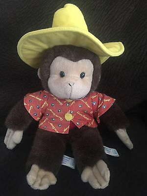 SUPER RARE!!! Curious George Factory Mess Up Toy Network Plush Animal 1 A Kind!!
