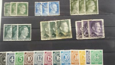 Deutsches reich stamps. Germany stamps. mint. used
