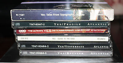 Collection of Yes CD's - All in excellent condition