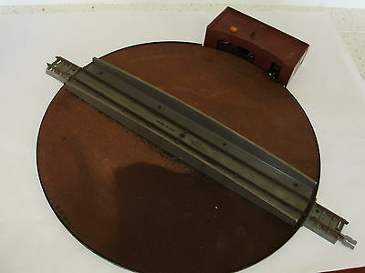Triang R.45 Turntable set. Mechanically good. 2 rail DC.  OO Scale. No Box
