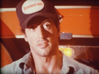 OVER THE TOP (SYLVESTER STALLONE) 3 x 600' SUPER 8MM FILM COLOUR OPTICAL SOUND