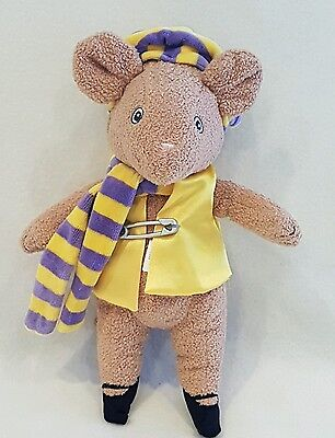 "Angelina Ballerina Cousin Henry Soft Toy Plush Teddy 10"" NEW rare"