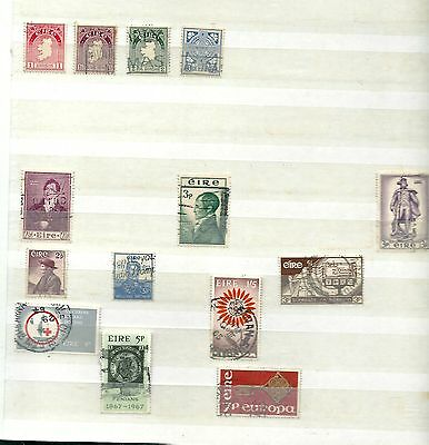 Irlande/eire/ireland 65 Stamps  1952 1997 Obl/used 3 Scans