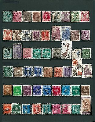 Great Britain/gb/grande Bretagne/inde/india/pakistan 178 Stamps Obl/used 4Scans