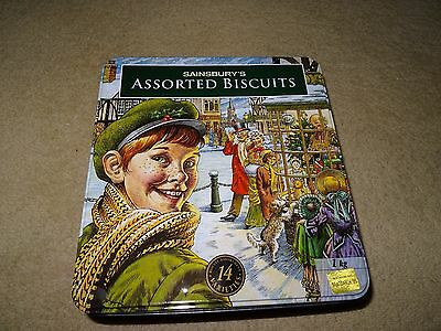 Vintage Biscuit Tin - Early 90's - Sainsburys