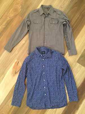 Bundle of long sleeve men's casual shirts from General Pants Co. As new.