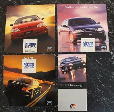 Ford Falcon AU - Car Sales Brochures Collection