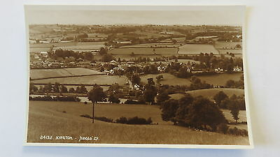Postcard Kington, Herefordshire. Unposted 1940s view.