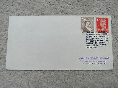 Vintage 1963 Argentina Cover - Buenos Aires cancel