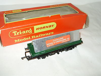 Hornby R.19 Plate wagon. Excellent condition.OO Scale.Made in the UK.Part Boxed