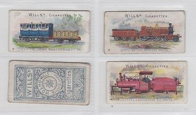 Rare 100 Year Old Wills Locomotives & Rolling Stock