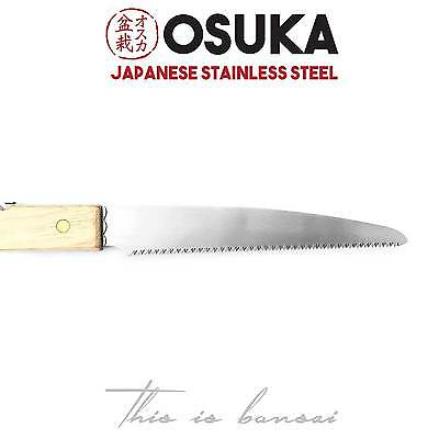 OSUKA Bonsai Saw – Razor Thin Blade – Japanese Stainless Steel