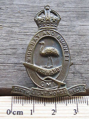 Australian Army 5th Australian Light Horse hat badge