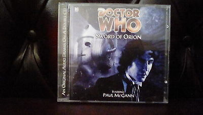 doctor who big finish audio the sword of orion
