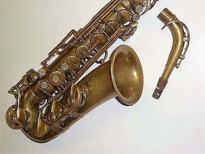 Vintage SELMER MARK 6 MK VI ALTO SAX 1970'S TOP PLAYING CONDITION
