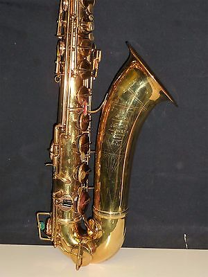 vintage Adolphe Sax tenor saxophone by Selmer Paris France 1920'S