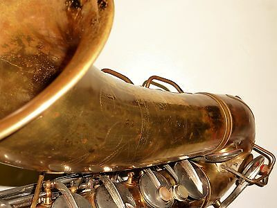 Vintage Selmer Paris France Radio Improved Silver plated Alto saxophone