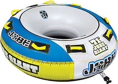 "Jobe Giant Towable Inflatable TUBE 71"" 3 MAN WITH TOW ROPE"