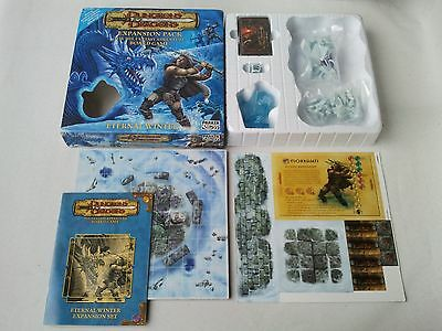 Unused DUNGEONS & DRAGONS EXPANSION SET PACK - ETERNAL WINTER -  Sealed Parts