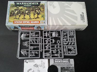 Complete Unused Catachan Sentinel Squadron Boxed - Imperial Guard Warahmmer 40k