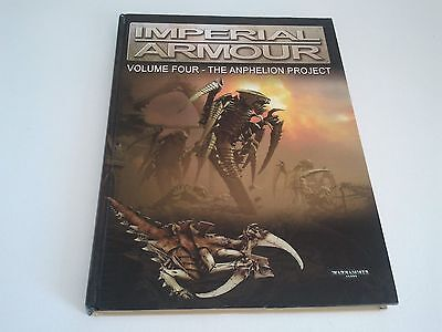 Imperial Armour Volume 4 Four The Anphelion Project 1st Edition - Near Mint