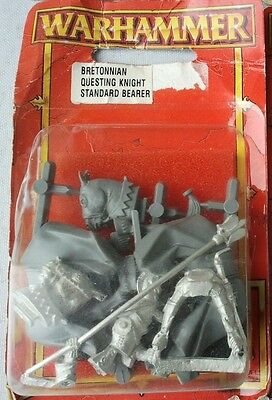 Sealed Bretonnian Questing Knight & Grail Knight - Warhammer
