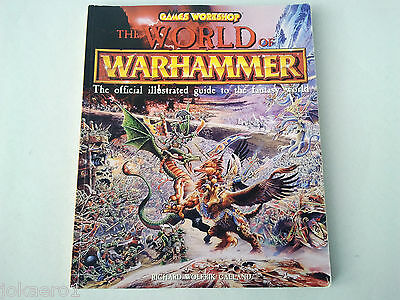 Games Workshop The World Of Warhammer Official Illustrated Guide & Art Book
