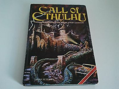 Call of Cthulhu 3rd Edition Hardback RPG Rulebook - H P Lovecraft Games Workshop