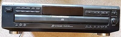 Sony CD player CDP CE-215 - Black 5 disc player