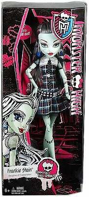 Monster High Frightfully Tall Ghouls Frankie Stein 43Cm Doll Brand New Dhc43