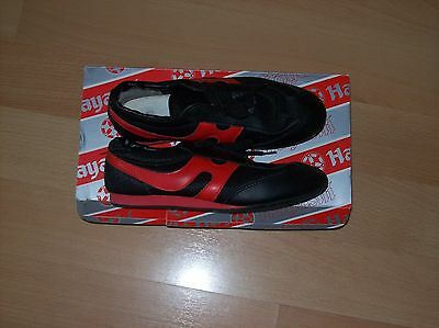 Lightweight trainers size 4 (36) red and black