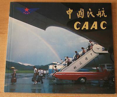 CAAC Brochure 1980 September 747SP,Trident,IL-62