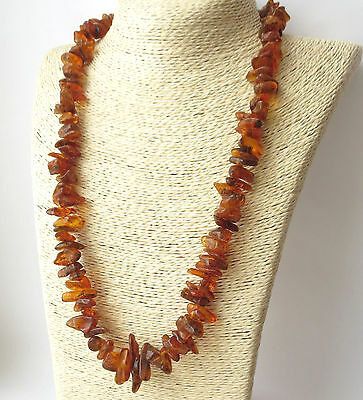 """Natural Baltic Amber Necklace 24 """""""