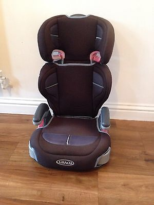 Graco Logico L High Back Booster Seat Jet Group 2-3 / 15-36kg / 4 - 12 Years