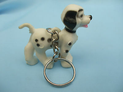Collectable Dalmatian Dog Ornament With Keyring Attached