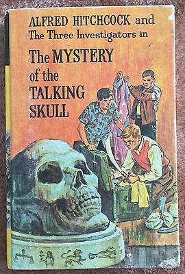 The Mystery of The Talking Skull ~ Alfred Hitchcock & Three Investigators H/C
