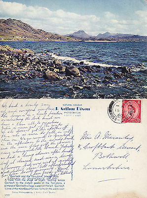 1960 Gairloch & The Torridons Wester Ross Scotland Colour Postcard