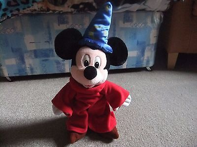 Disney's Mickey Mouse 'Sorcerers Apprentice' soft toy.