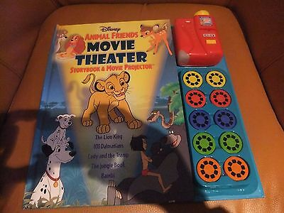 Disney Animal friends movie theater storybook and movie projector.