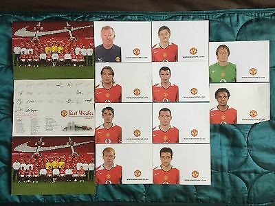 Manchester United MUFC Photo Cards