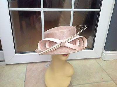 Ladies Cream Hat For Weddings/races/special Occasions/new & Tags Rrp £69.99
