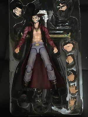 Dracule Mihawk One Piece Anime Action Figure Toy Poseable Model Variable VAH